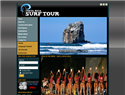screenshot of Costa Rica Surf Tour